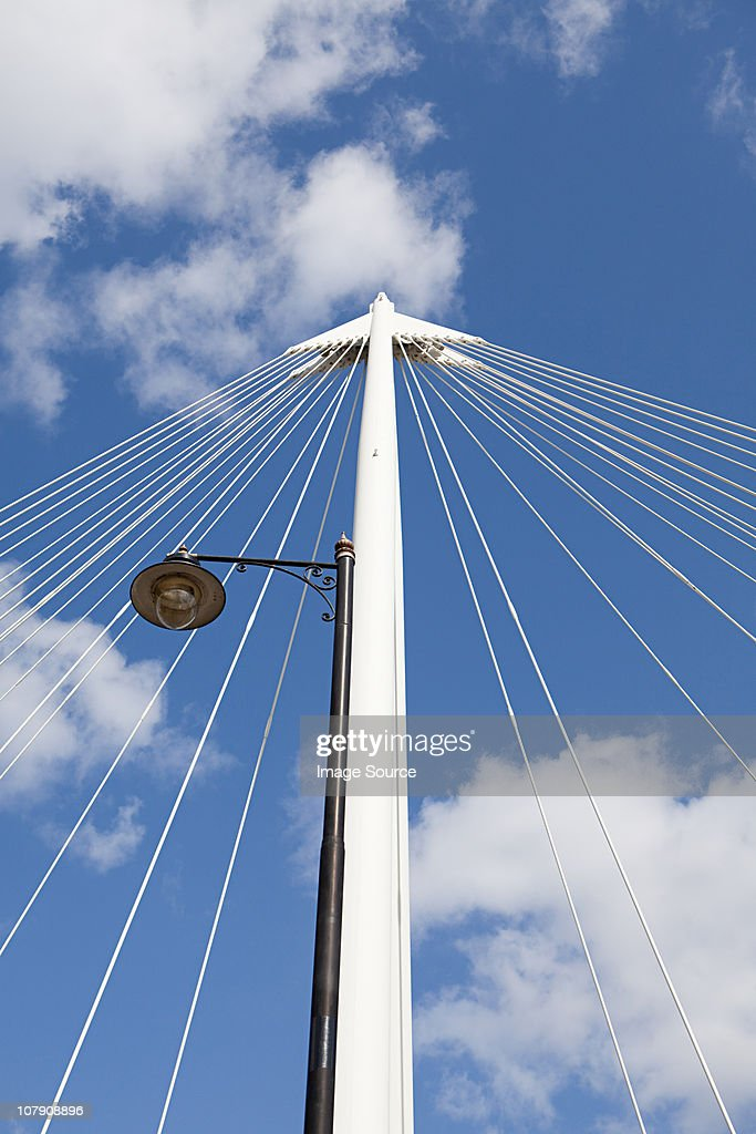 Detail on Hungerford Bridge, London : Stock Photo