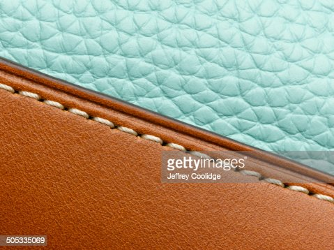 Detail on Leather Purse