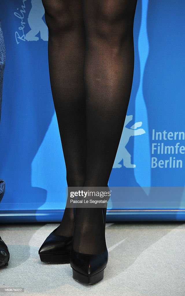 Detail shot of actress Ziyi Zhang attending 'The Grandmaster' Photocall during the 63rd Berlinale International Film Festival at The Grand Hyatt Hotel on February 7, 2013 in Berlin, Germany.
