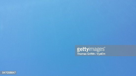 Detail Shot Of Clear Blue Sky