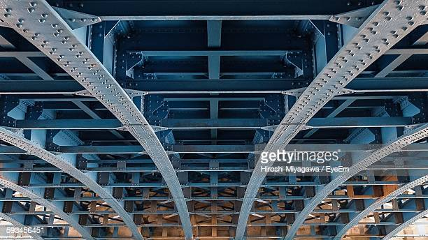 Detail Shot Of Metal Bridge