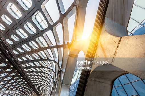 Modern Architecture Detail detail shot of modern architecture facadebusiness concepts stock
