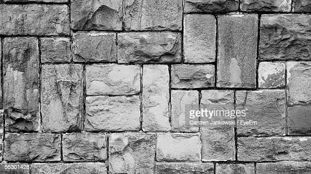 Detail Shot Of Stone Wall
