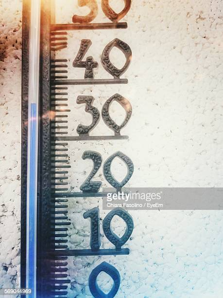 Detail Shot Of Thermometer