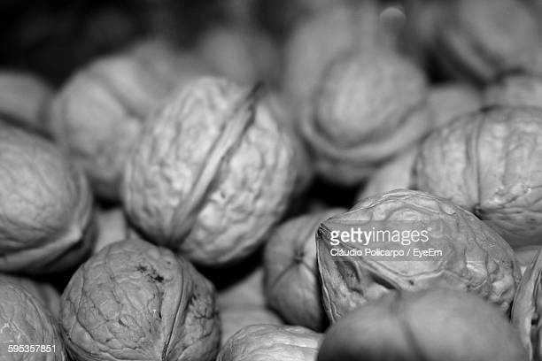 Detail Shot Of Walnuts