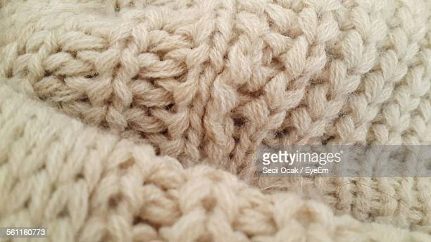 Detail Shot Of Wool Material