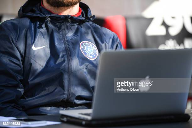 Detail view during the Official Tryouts of FC Miami City on February 15 2017 in EpinaysurSeine France