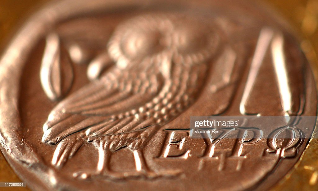 A detail view of a Greek one Euro coin is pictured on June 21, 2011 in Athens, Greece. Eurozone finance ministers are currently seeking to find a solution to Greece's pressing debt problems, including the prospect of the country's inability to meet its financial obligations unless it gets a fresh, multi-billion Euro loan by July 1. Greece's increasing tilt towards bankruptcy is rattling worldwide financial markets, and leading economists warn that bankruptcy would endanger the stability of the Euro and have dire global consequences.