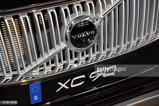 Detail view of The AllNew XC90 at Volvo Cars and Avicii Feeling Good About The Future on May 7 2015 in Los Angeles California