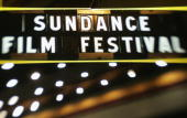 A detail view of the Egyptian Theater during the Sundance Festival during the 2005 Sundance Film Festival on January 20 2005 in Park City Utah