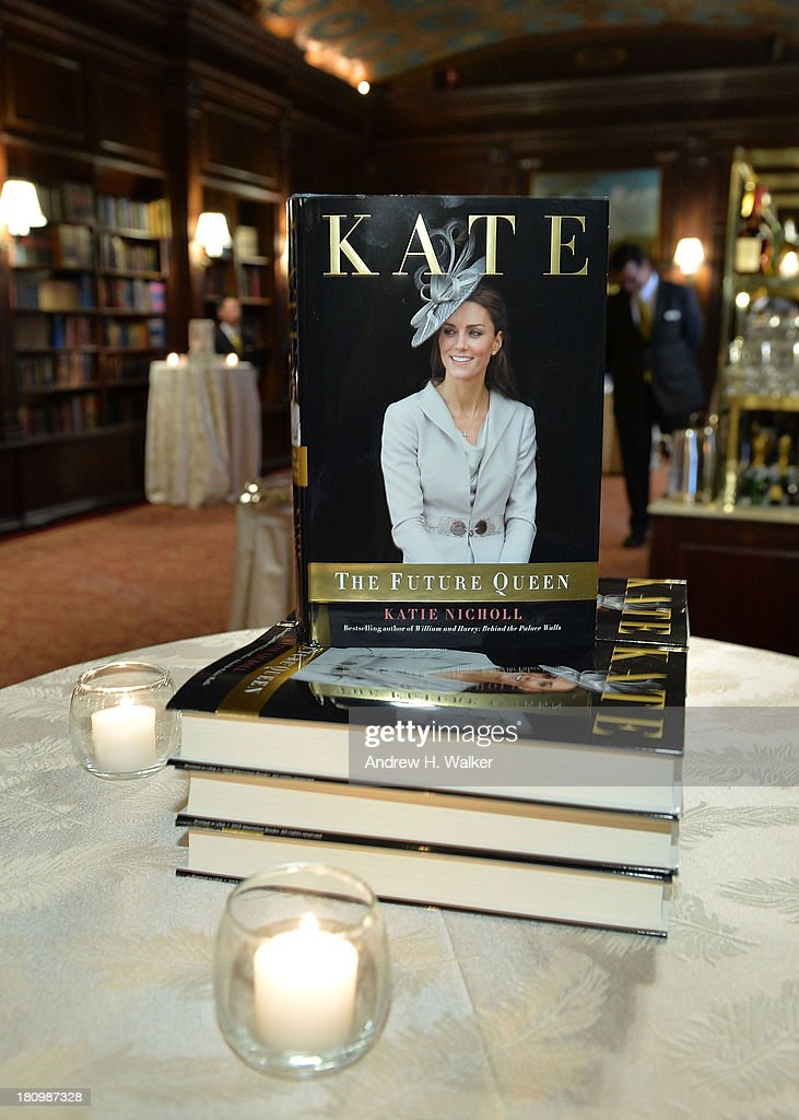 Detail view of the 'Kate: The Future Queen' launch party on September 18, 2013 in New York City.