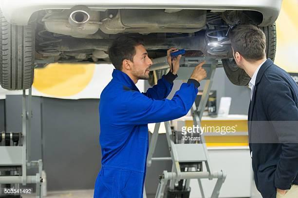 Eine detaillierte Fahrzeug Bewertung verfassen