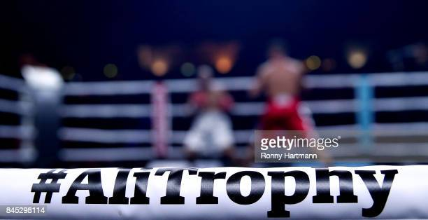 Detailed view during the WBO Cruiserweight World Boxing Super Series at Max Schmeling Halle on September 9 2017 in Berlin Germany