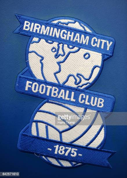 Detailed view of a Birmingham City Badge during the Sky Bet Championship match between Birmingham City and Queens Park Rangers at St Andrews Stadium...