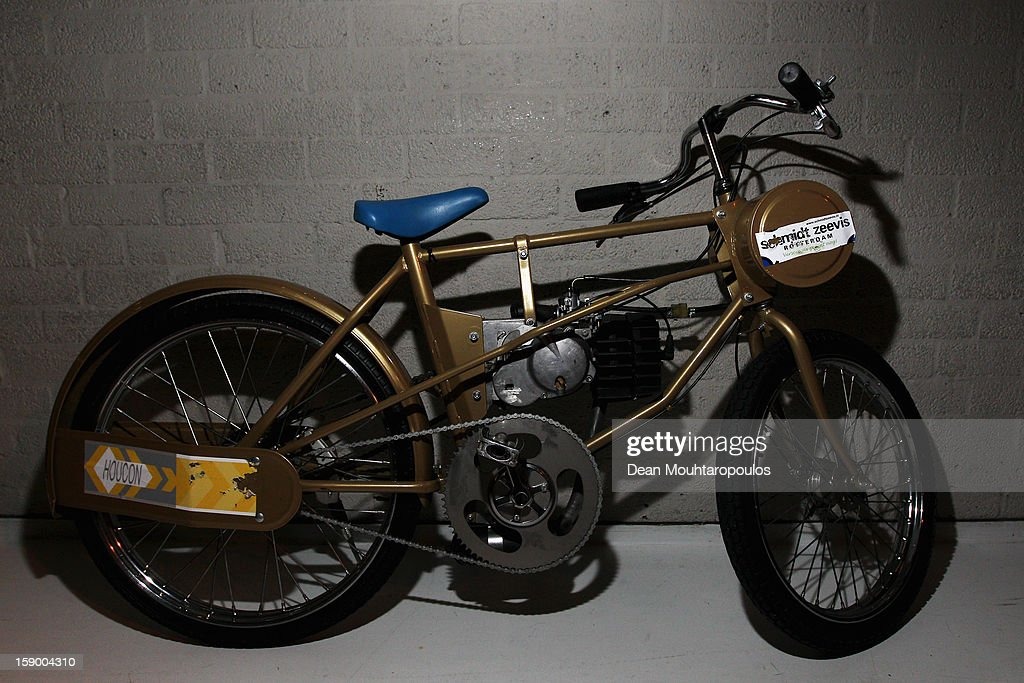 A detailed view of a Derny during the Rotterdam 6 Day Cycling at Ahoy Rotterdam on January 4, 2013 in Rotterdam, Netherlands.