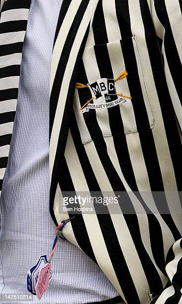 A detailed view of a spectator's jacket during the fifth day of the 2012 Henley Royal Regatta on July 1 2012 in HenleyonThames England