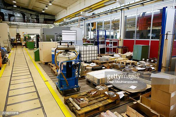 A detailed view of orders deliveries and requests in Building 72 the Mechanical Materials Engineering Department or MME workshop at The European...