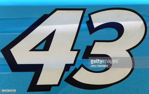 A detailed view of the STP showcar prior to the Monster Energy NASCAR Cup Series Bojangles' Southern 500 at Darlington Raceway on September 3 2017 in...