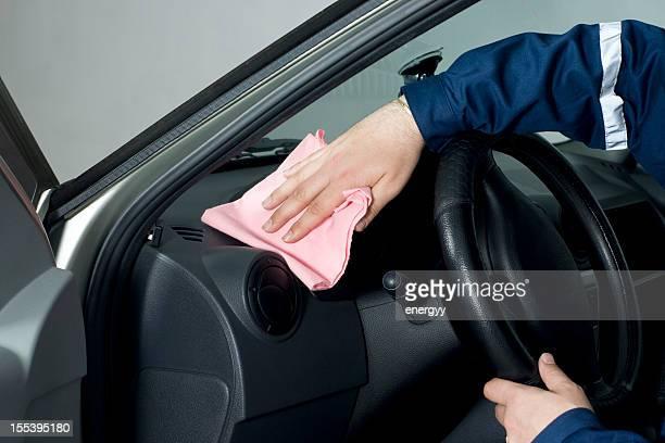 Lavage de voiture intérieur
