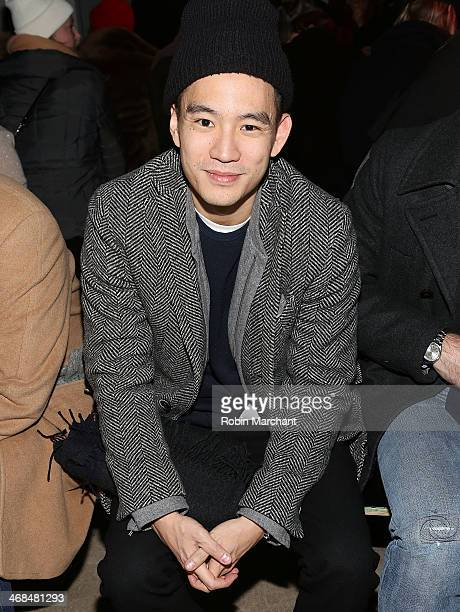 Details Magazine Style Director Eugene Tong attends the Kenneth Cole Collection presentation during MercedesBenz Fashion Week Fall 2014 at The Garage...