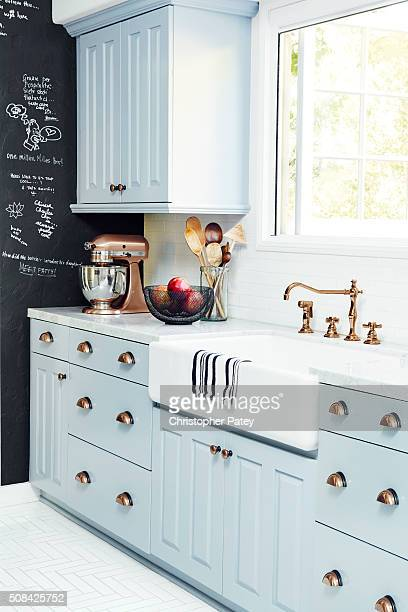 Details of actress Nina Dobrev's home are photographed for Domaine Home on December 23 2015 in Los Angeles California Published Image