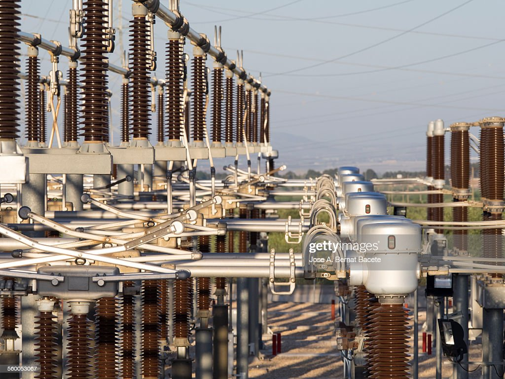 Details of an electric power station
