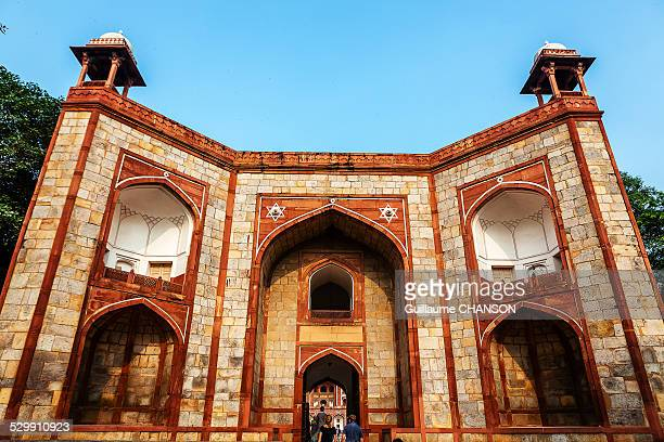 Details of Entrance portal into Humayun's Tomb