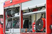 Details of firefighting truck