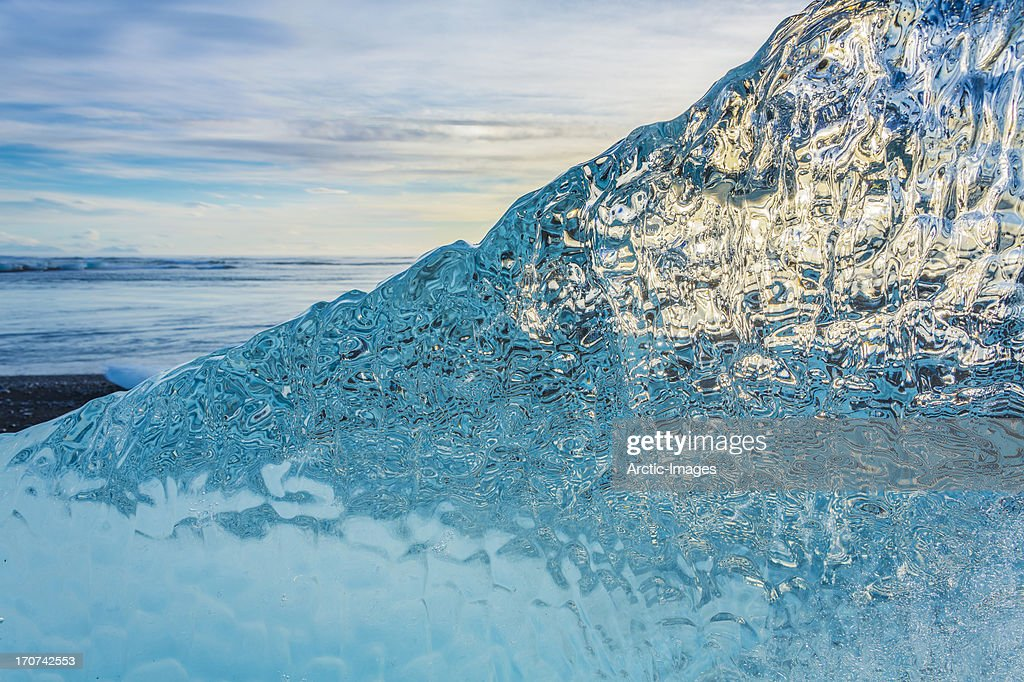 Details of Glacial Ice : Stock Photo