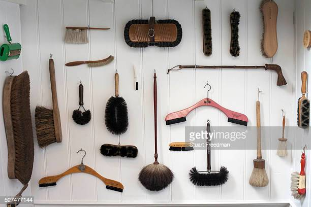 Details of items for sale at the fashionable hardware shop Labour and Wait Shoreditch London Labour and Wait sell new and vintage industrial and...