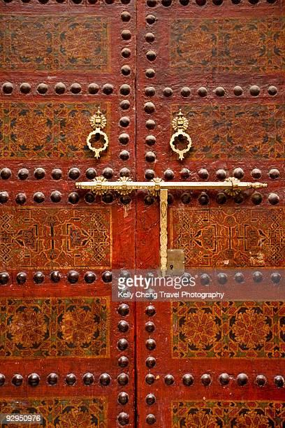 Details of Moroccan Door