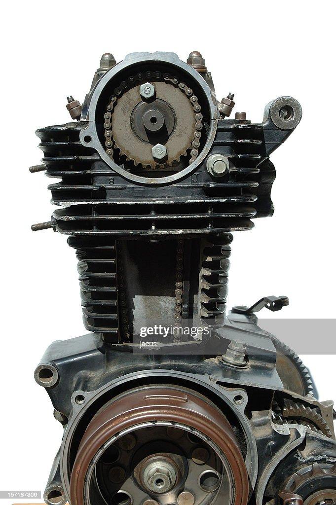 Details of old four stroke engine