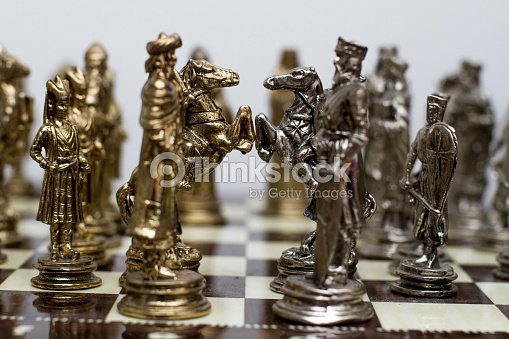 Details Of The Cool Chess Game Set Stock Photo Thinkstock