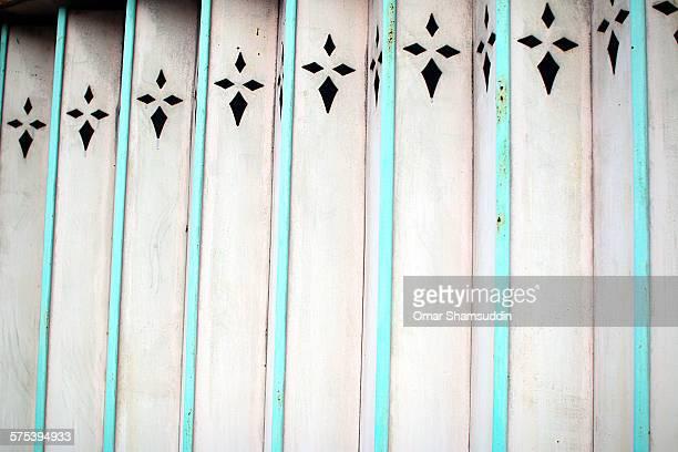 Details on the folding door
