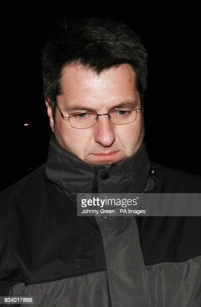 Detective Chief Inspector Peter Salkeld leaves Maidstone Crown Court in Maidstone Kent after denying 19 charges of theft obtaining property by...