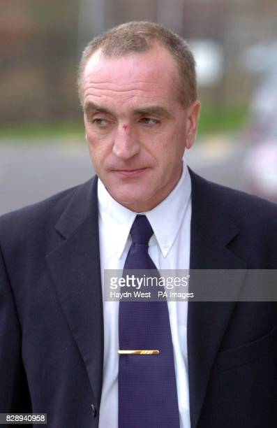 Detective Garda Noel McMahon after giving evidence in the Morris Tribunal in Dublin which is investigating a wideranging series of claims about garda...