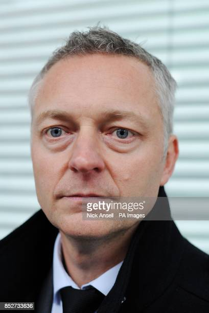 Detective Inspector Justin Davies of the Sutton Homicide squad a senior investigating officer in the murder of Carole Waugh speaks to the media after...
