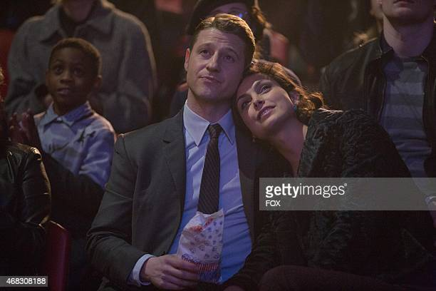 Detective James Gordon takes Dr Leslie Thompkins to the circus in the 'The Blind Fortune Teller' episode of GOTHAM airing Monday Feb 16 on FOX