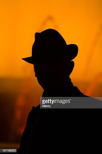 detective silhouette