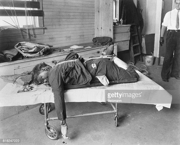 Body Of Gangster Walter Sage Pictures Getty Images