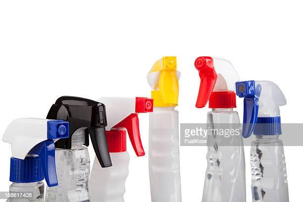 Garrafas de detergente