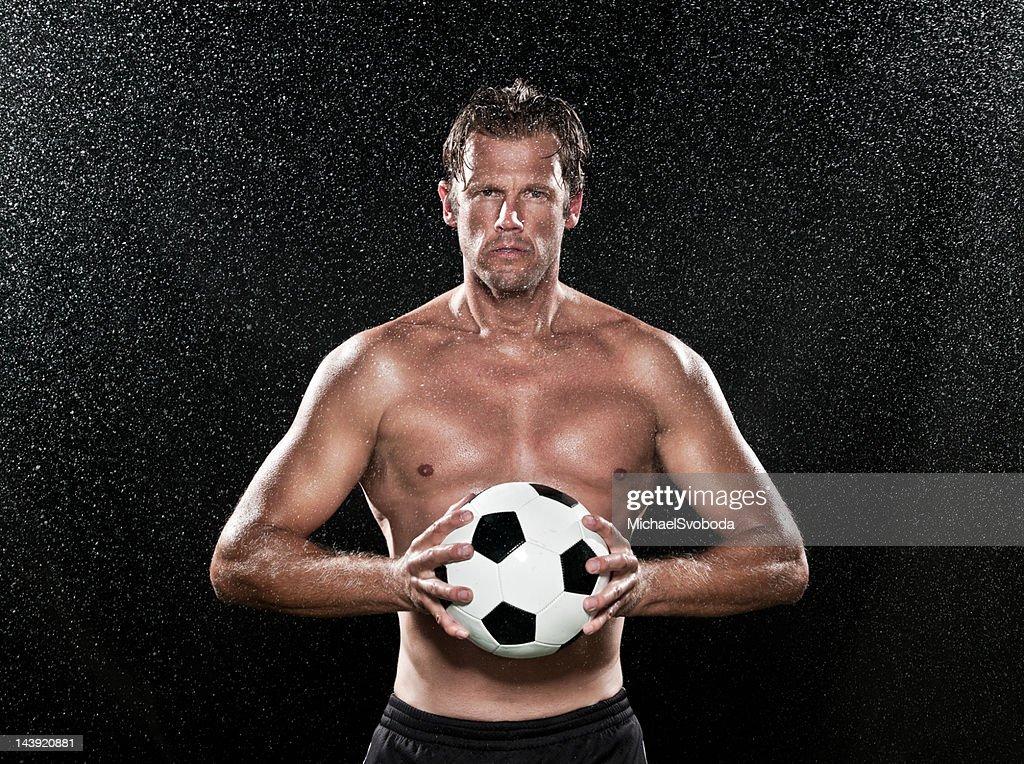 Determined Athlete : Stock Photo