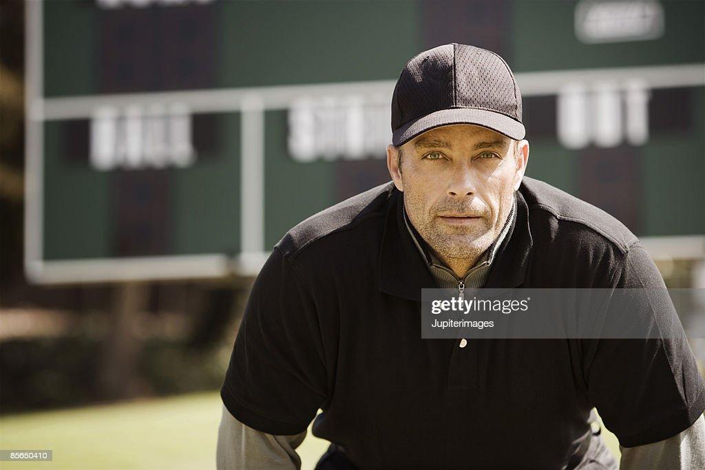 Determined umpire
