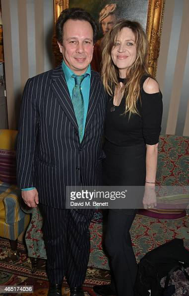 Detmar Blow and Martha Fiennes attend the premiere of 'A Postcard From Istanbul' directed by John Malkovich in collaboration with St Regis Hotels...
