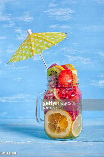 Detox water of fruits