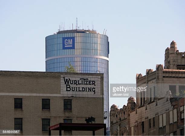 headquarters of auto company general motors and wurlitzer building. Cars Review. Best American Auto & Cars Review