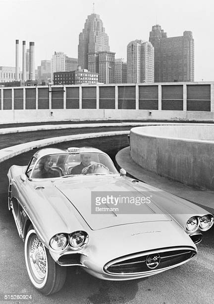 Latest in a series of experimental cars is the Chevrolet XP700 Corvette which will be introduced at the International Auto Show in New York The twin...