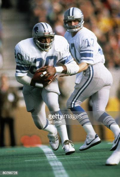 Something Billy sims lions lick