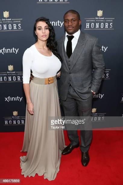 Detroit Lions running back Reggie Bush attends the 3rd Annual NFL Honors at Radio City Music Hall on February 1 2014 in New York City