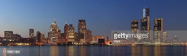 Detroit, Michigan Panorama